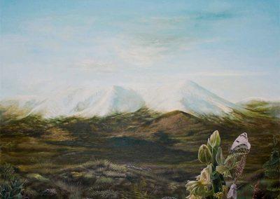 Armiño blanco • 2010 • 46 x 61 cm • acryl auf holzes