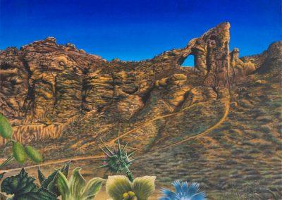 Juslibol paraíso de sol • 2010 • 50 x 60 cm • アクリル/木