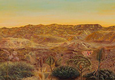 Paraíso de Monegrillo II • 2009 • 42 x 180 cm • acrílico sobre madera
