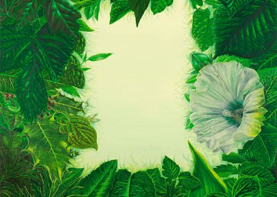 Paraje Pirenaico • 2009 • 120 x 90 cm • acryl auf holzes · Magischer Realismus · Malerei
